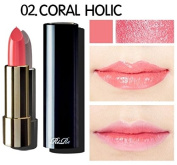 RiRe Luxe Glow Lipstick #2 Coral Holic / Lip Stick / Lip Gloss / Cosmetic / Beauty Cosmetic It Item / Lip Moisturiser / korean beauty cosmetic