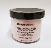 Premium Nail - Solar Acrylic Nails Powder-110ml (Made in Usa) - Crystal Clear Pink