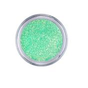 Young Nails False-Nail Glitter, Apple, 5ml
