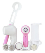Soniclear Elite DELUXE Antimicrobial Facial Skin Cleansing Brush System | Cotton Candy