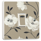 Popular Wallpaper Floral Pattern Design for Light Switch Cover Self-adhesive Vinyl Sticker