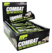 Muscle Pharm - Combat Crunch Bars Box Chocolate Coconut - 12 Bars