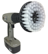 The Beast Brush - Power Scrubbing Brush Drill Attachment for Cleaning Showers, Tubs, Bathrooms, Tile, Grout, Carpet, Tyres, Boats
