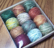 Valdani 3-strand cotton floss - Country Lights, Set 2