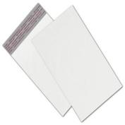 White Unprinted Poly Mailers, 15cm x 23cm + 5.1cm Flap