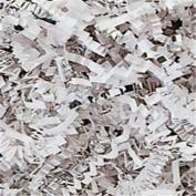 Silver & White Metallic Crinkle Cut Blend Fill, 18kg Box