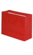 Large Red Glossy Euro Tote Bag 41cm x 15cm x 30cm Case of 100