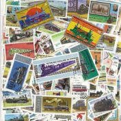 Collection of Cancelled Trains 100 Different Stamps