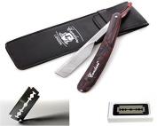 CANDURE® - Professional Straight Cut Throat Razor - Barber Razor - Traditional Shaving Razor - Shavette Razor + Free Travel Case