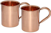 Zap Impex ® 100% Pure Copper Food Grade no nickel or stainless steel, pure food grade copper. These mugs are the only true-drink, like the Moscow mule, should be enjoyed with a handmade pure copper cup set of 2.