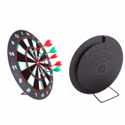 Soft Tip Safety Darts and Dart Board - Great Games for Kids Children- Professional Dartboard Set