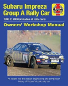 Subaru Impreza WRC Rally Car 1993-2008