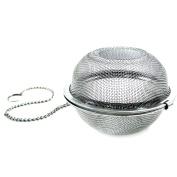 Sanitary Stainless Steel Tea Ball Strainers Tea Infusers Net Tea Maker Teapot Silver