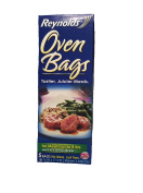 Reynolds Oven Bags, 5 Bag No Mess, For Meats up to 3.6kg and 4 to 6 Serving Recipes