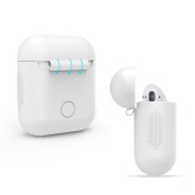 Earphones - Kingwo Soft Silicone Shock Proof Protective Cover Case For Apple AirPods Earphones