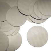 ImpressArt, Circle, Nickel Silver, 5.1cm Stamping Blanks- 24 pc.
