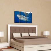 Doherty Photography 'Shark' 3-pc Canvas Art Set