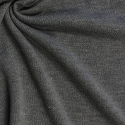 Premium Quality Poly Rayon Spandex Sweater Knit Jersey Fabric by the bolt - Medium Heather Grey - 10 Yards
