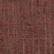 Blackberry Purple Herringbone Texture Faux Linen Essential Upholstery Fabric by the yard