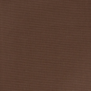 Mahogany Brown Solid Outdoor Made in USA Essential Upholstery Fabric by the yard