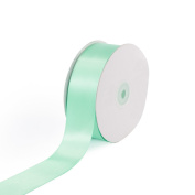 Creative Ideas Solid Satin Ribbon, 3.8cm by 50 Yard, Mint Green, Solid