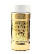 Gold Leaf & Metallic Co. Metallic and Mica Powders extra brilliant pale gold 60ml