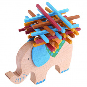 Wooden Elephant Balancing Games