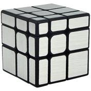CuberSpeed Cubing Classroom Mirror S 3x3x3 Silver Stickere Magic Cube Moyu MoFang JiaoShi 3x3 Silver S Mirror Speed cube