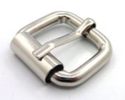 Trimming Shop 50 X 25mm Roller Buckle For Men And Women - Replacement Clasp For Repairing Belts,And Leather Crafts - Heavy Duty Metal Fastener - Arts And Crafts Sewing Kit Supply For Fixing 50 Set