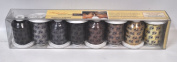 Robison Anton Hair Tones 1 Rayon Ebroidery Thread Set 8ct