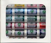 Iris Threads 60006-A24 Iris Polyester Embroidery Thread 24 Colour Sampler