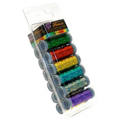Metallic 2ply Thread Sampler Set