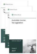 Australian Income Tax Legislation 2017 - 3 Volume Set