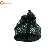 MarketBoss New Type Nylon Mesh Pouch 48 Golf Tennis Balls Carrying Holder Bag with Spring Buckle