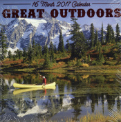 Great Outdoors - 16 Month Wall Calendars 2017