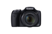 Canon PowerShot SX530 HS 16.0 MP CMOS Digital Camera with 50x Optical Image Stabilised Zoom (24-1200mm), Built-in WiFi, 3-Inch LCD and HD 1080p Video (Black)