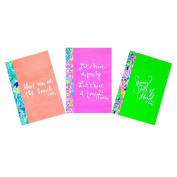 Lilly Pulitzer Notebook Set, Assorted