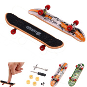 Leegor 10PCS Cool And Exquisite Mini Finger Board Micro Skateboard Decompression Toys Indoor Ornaments Collection And Birthday Gift Idea