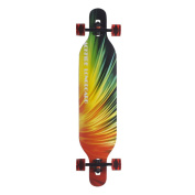 Backfire Drop Through Longboard Complete Double Kick 110cm x 24cm Professional longboards