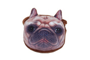 GIZZY® Cute Kids Dog Lovers Pug Dog Small Coin Purse with Strap.