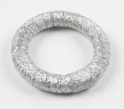 Fennco Styles Handmade Shiny Silver Round Napkin Ring - Set of 4
