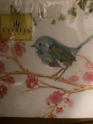 Cypress Home Blue Bird Cocktail Beverage Napkins 40 Count