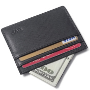 BVP Leather Slim Wallet Card Holder