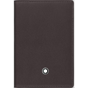 Montblanc Business Card Case, BROWN (Brown) - 114553