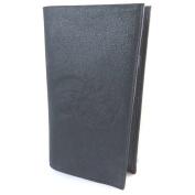 "Chequebook holder with sequined leather 'Les Trésors De Lily'navy - 19x11 cm (7.48""x4.33"")."