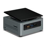 Intel NUC BOXNUC6CAYH Mini Computer Intel Celeron J3455 Quad core ,up to 2.3GHz ,1 X SATA3 Support