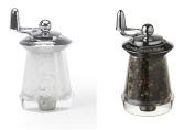William Bounds Key Salt & Pepper Mills