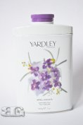 YARDLEY LONDON TALCUM ENGLISH ROSE LAVENDER LILY OF THE VALLEY APRIL VIOLET TALC 200g