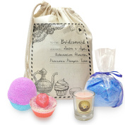 Twisted Envy Personalised Bride To Be Relaxation Heaven Pamper Mini Spa In A Bag Collection 3