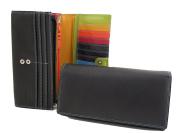 Multi-coloured Large Purse style 7-146